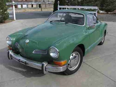karmann ghia green sell used 1972 karmann ghia vw volkswagen willow green