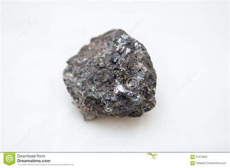 Mineral L by Galena Mineral With Silver Stock Image Image Of Adamant