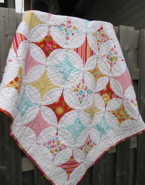 Cathedral Patchwork - custom quilt patchwork quilt cathedral window quilt