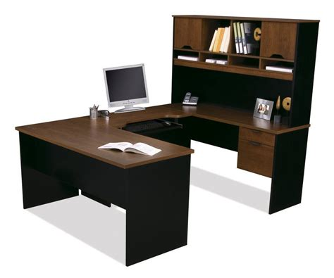 Black U Shaped Desk U Shaped Computer Desk Furniture For Home Office