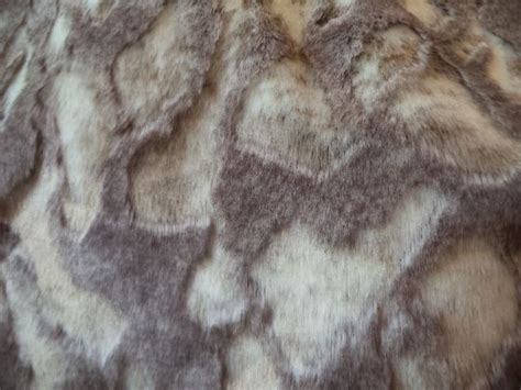 Fur Upholstery Fabric by Beige And Rabbit Faux Fur Upholstery Drapery Fabric By The Yard Ebay