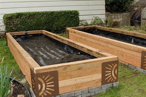 self watering raised bed building sub irrigated raised garden beds by diana lind
