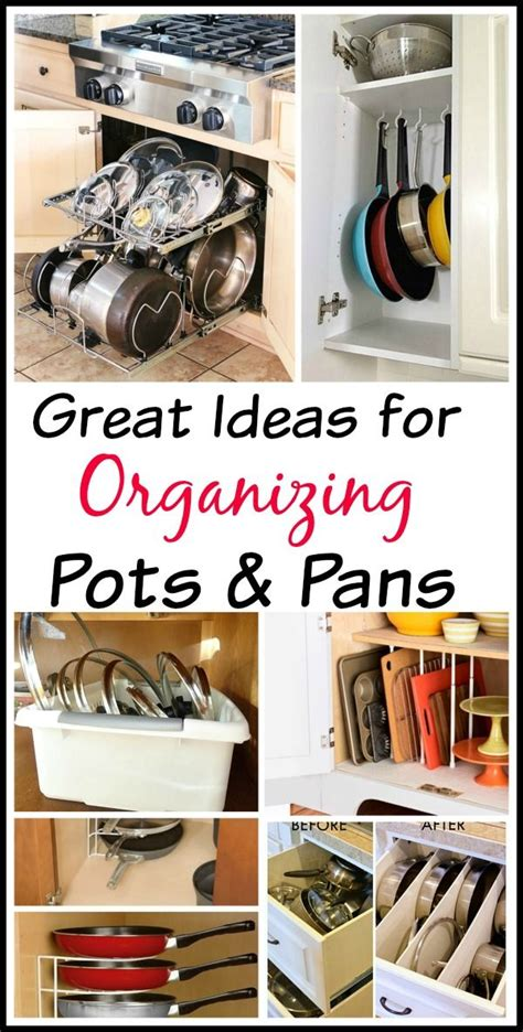 Kitchen Pan Storage Ideas Tips For Organizing Pots And Pans
