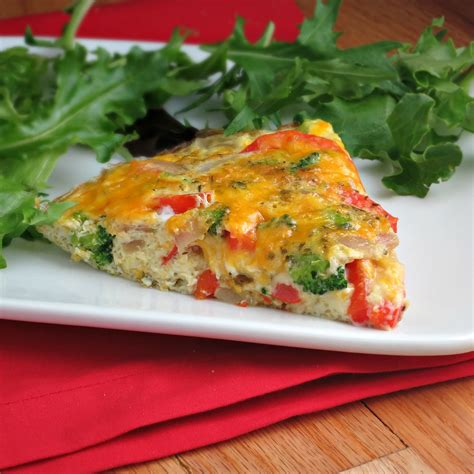 quick and easy vegetable frittata recipe food next recipes