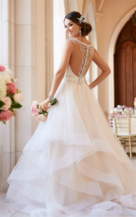 backless wedding dresses ballgown wedding dress