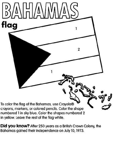 bahamas map coloring page bahamas crayola com au
