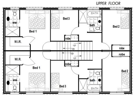 narrow lot townhouse design 6 bedroom