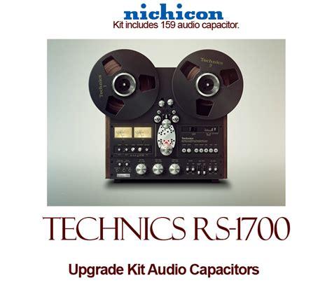 rs capacitors technics rs 1700 upgrade kit audio capacitors
