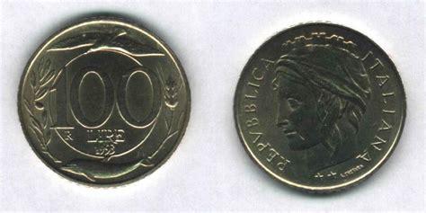 100 lire 1993 testa piccola 100 lire italia turrita 1993 variante testa piccola