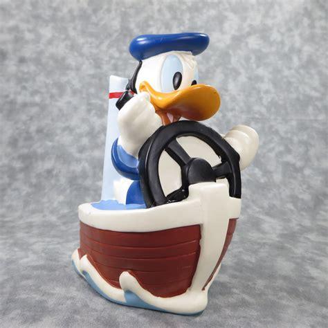 Donald Duck 6 donald duck 6 3 4 inch vinyl lastic coin money bank just