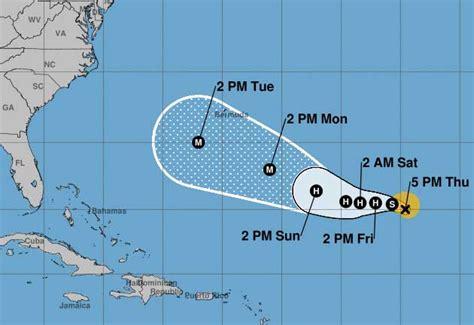 hurricane florence threatens bermuda cayman compass
