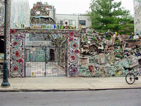 philadelphias magic gardens  mosaic art  isaiah