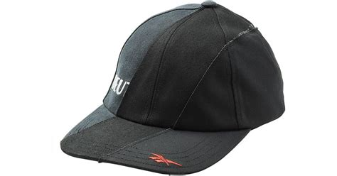 vetements x reebok reworked baseball cap in black for