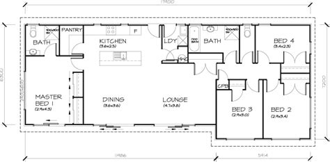 nz house plans 4 bedroom 4 bedroom transportable homes floor plans