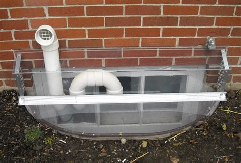 basement window vent vented window well covers