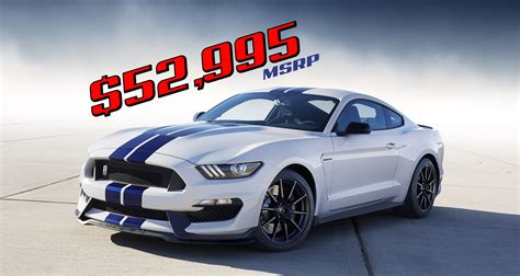 the shelby gt350r mustang msrp autos post