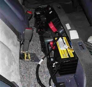 Buick Lesabre Battery Battery Location Buick Battery Free Engine Image For