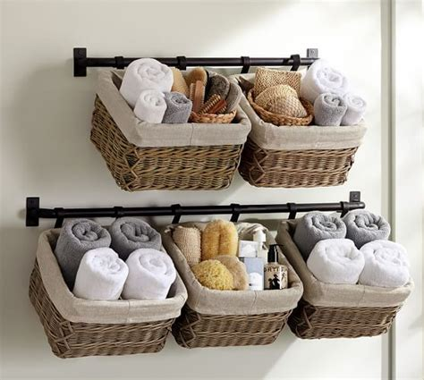 bathroom basket ideas best 25 wall basket ideas on hanging baskets kitchen produce baskets and rustic
