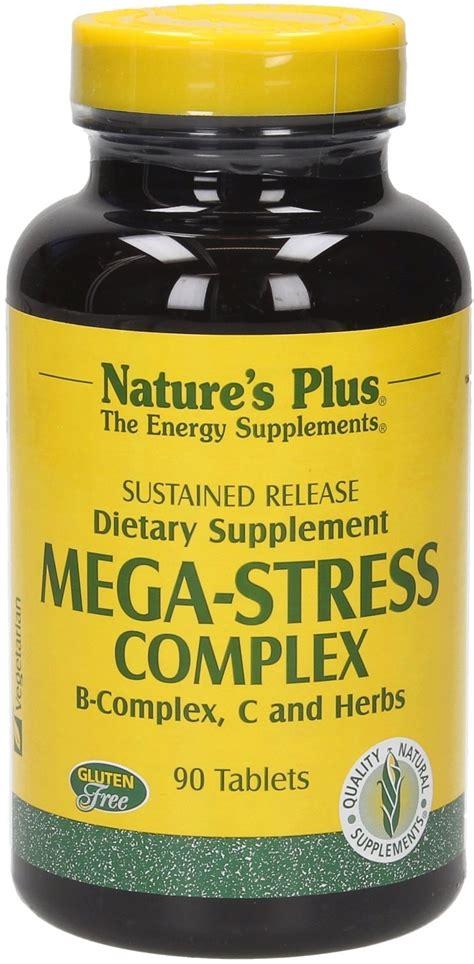 Sale Nature S Plus Mega B 100 S R 60 Tabs Produksi Energi Alami mega stress complex s r nature s plus vitalabo shop europe