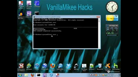 tutorial hack password windows 7 how to bypass hack a windows 7 administrator account cmd