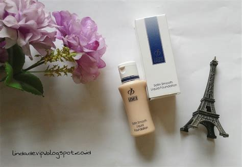 Harga Inez Satin Smooth Liquid Foundation review inez satin smooth liquid foundation 01 ivory hi