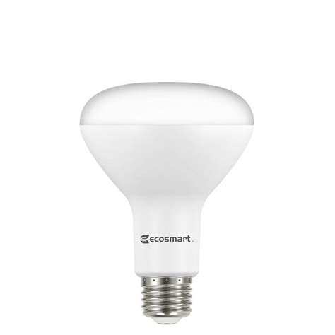 what is a br30 light bulb ecosmart 65w equivalent white br30 dimmable led light
