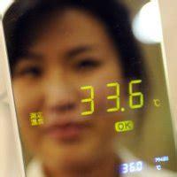 Cermin Wajah jurnal laporan cermin ajaib pendeteksi flu