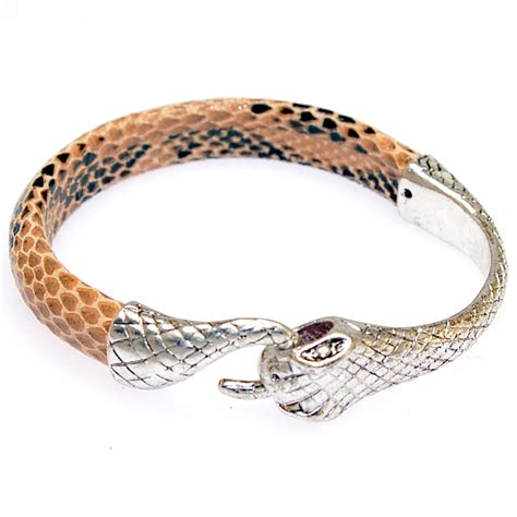 Aliexpress.com : Buy Authentic leather snake bangle,unique designed vintage leather snake bangle