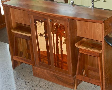 Asian Style Counter Stools by Made Custom Claro Walnut Japanese Style Counter
