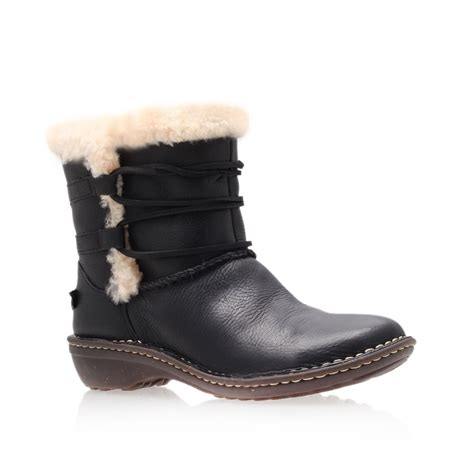 ugg rianne ankle boots brown national sheriffs association