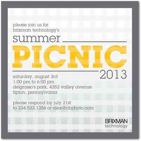 invitation design nyc picnic patterns corporate event invitations in