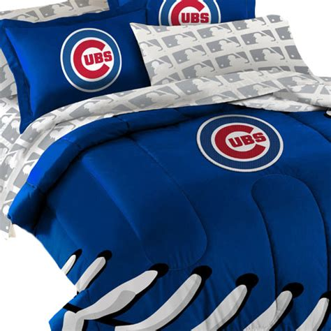 chicago cubs crib bedding cubs bedding set 5pc mlb chicago cubs comforter set