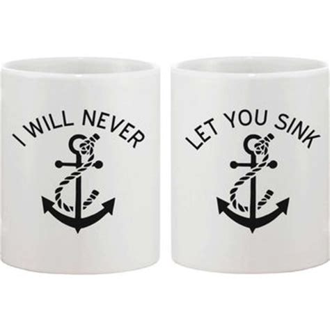 Sweater I Will Never Let You Sink 1 grey crewneck i will never let you sink from