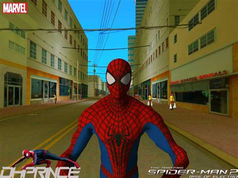 gta vice city spiderman mod game free download gta vice city the amazing spiderman 2 skin mod gtainside com
