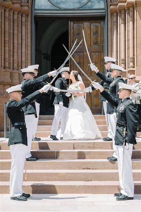 wedding arch of swords sword arch
