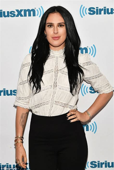 Demi Ring Blouse rumer willis steps out in white blouse and black daily mail