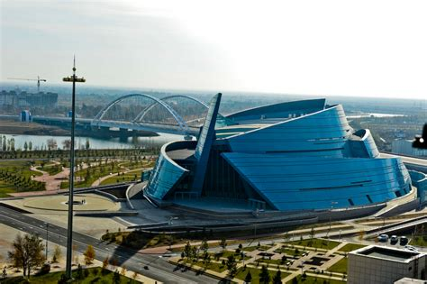 Curved Walls astana architecture astana architectural wonders edge