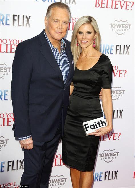 actor who looks like lee majors lee majors 75 looks like 6m as he takes wife faith 40