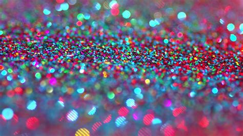 Blue Green Colors by Sparkly Glitter Background In Bright Colors Great Party