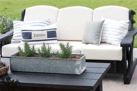 cottage style outdoor furniture outdoor patio furniture makeover the wood grain cottage