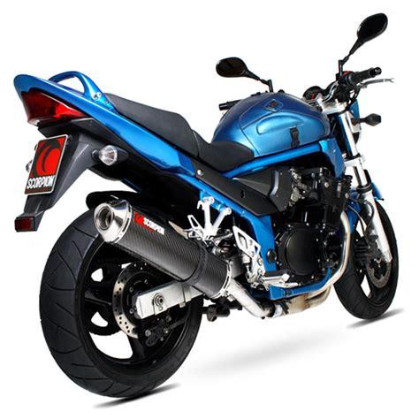 Suzuki Bandit 1200 Exhaust System Scorpion Factory Stainless Exhaust Suzuki Gsf 1200