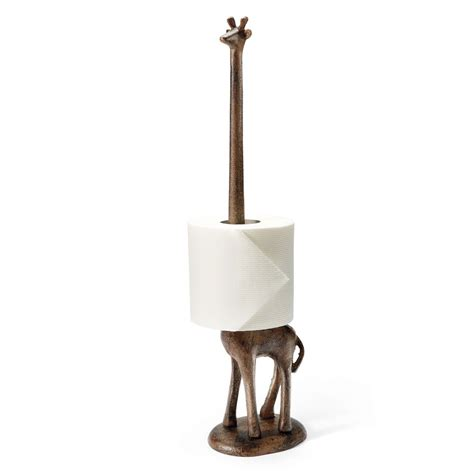 toilet paper holder giraffe paper towel toilet paper holder the green head
