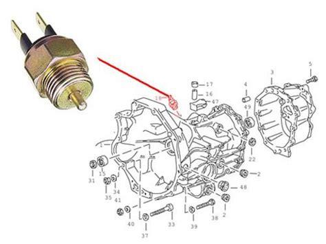 Switch Atret porsche 944 951 back up light switch transmission backup trigger ebay