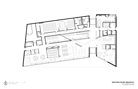 Architecture Photography Floor Plan 156300 | gallery of columbus metropolitan library nbbj 12