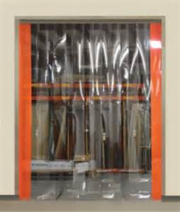 Material Room Dividers - strip doors quick and easy installation and maintenance