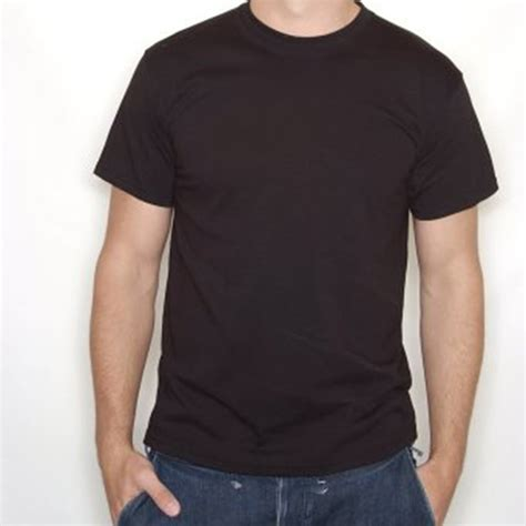 Black T Shirt plain black t shirt 100 cotton xxxl chef t shirts