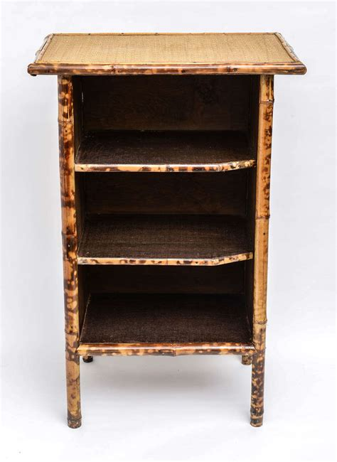 20th century bamboo and rattan bookcase at 1stdibs