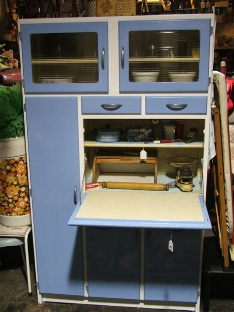 Retro Cabinets Kitchen Vintage Retro 1950 S 60 S Kitchen Larder Cabinet Cupboard With Drawers Doors Ebay