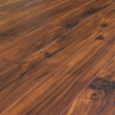 Click On Floors by Walnut Acacia Scraped Laminate Click Lock