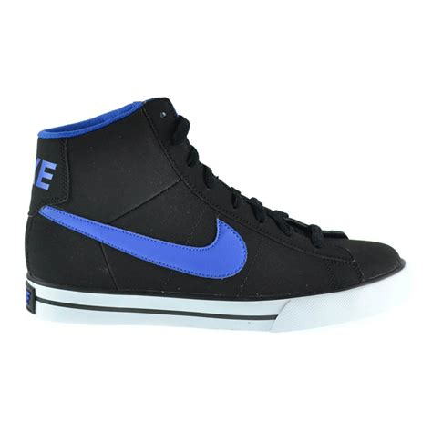 best athletic shoes for boys nike sweet classic high toddler boys black blue high top